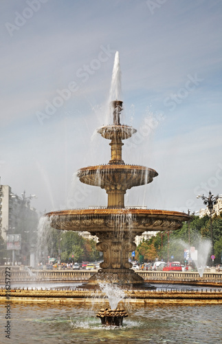 Fotografie, Obraz  Unification Square (Piata Unirii) in Bucharest. Romania