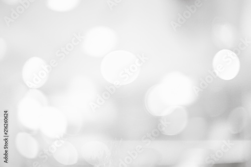 Fototapety, obrazy: Grey or White blurred of department store background. Defocused blur background.