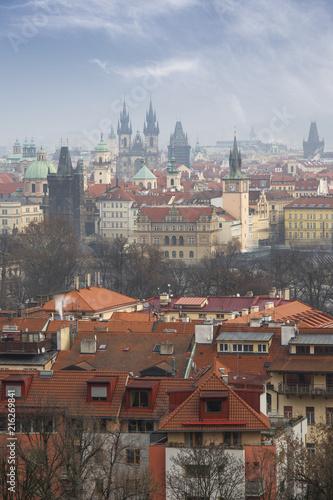 Staande foto Praag beautiful old streets of Prague.