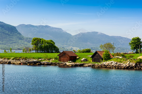 Papiers peints Scandinavie Beautiful Norway landscape
