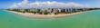 Leinwanddruck Bild - Aerial view of Maceio, Alagoas