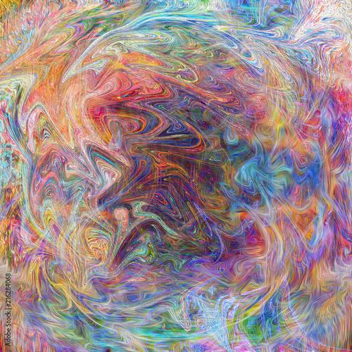 абстрактный красочный фон с пятнами чернил