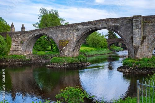 Spoed Foto op Canvas Brug Die Steinbrücke von Stirling/Schottland