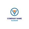 SV letter initial logo.