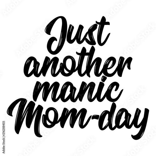 Vászonkép Just another manic Mom-day