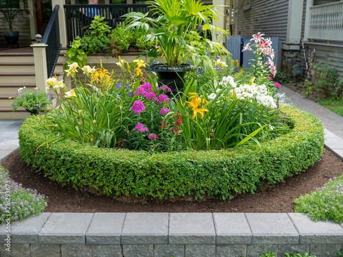 Papiers peints Jardin Beautiful spring garden design.