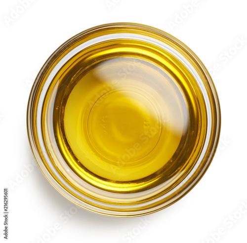 Fototapeta Bowl of extra virgin olive oil obraz
