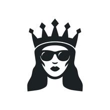 Cool Queen In Sunglasses