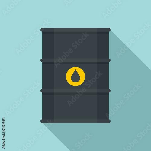 Pinturas sobre lienzo  Petrol barrel icon