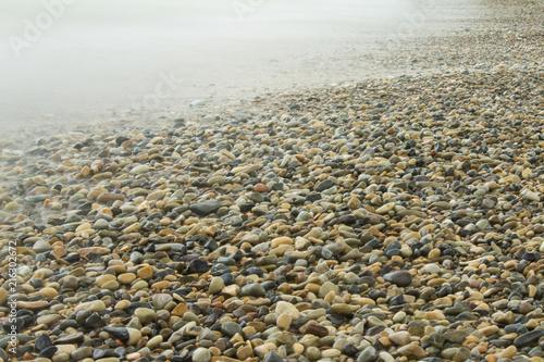 stones under water at long exposure