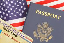 Passport License Flag