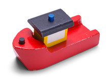 Wood Toy Boat