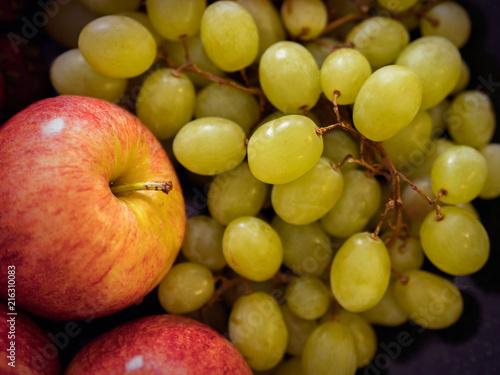 Fototapeta jabłko jablka-i-winogron