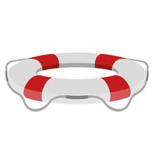 Isolated Lifesaver Icon