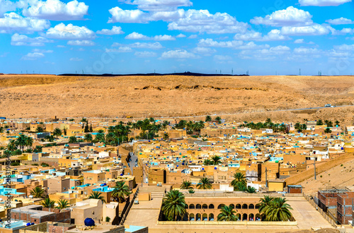 Keuken foto achterwand Historisch geb. View of Beni Isguen, a city in the Mzab Valley. UNESCO world heritage in Algeria