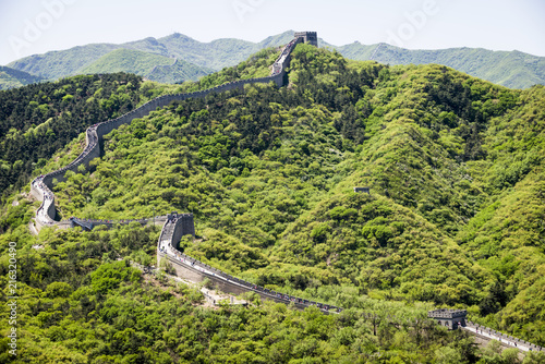 Deurstickers Chinese Muur The Great Wall near Badaling, China.