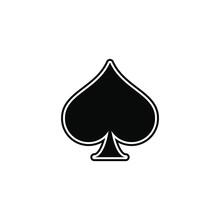 Spade, Playing Card Ace