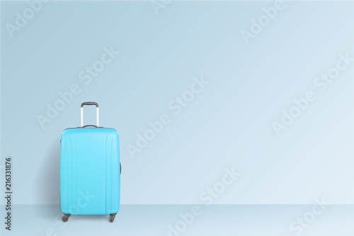 Poster Asia Country Suitcase.
