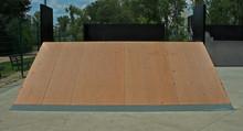 Empty Sports Complex Skateboar...