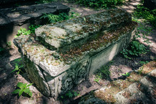 Old Graves In The Cemetery