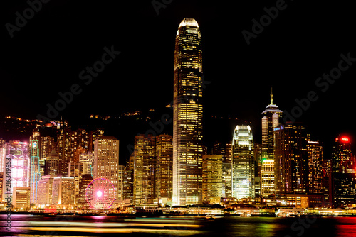香港の夜景 Poster