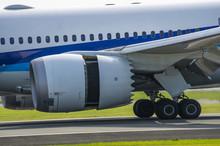 ジェット旅客機・逆噴...