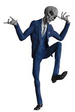 Mr Grey Alien The Businessman ...