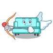 Cupid sofa character cartoon style