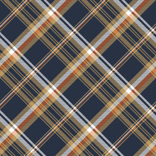 Blue Check Diagonal Seamless Fabric Texture