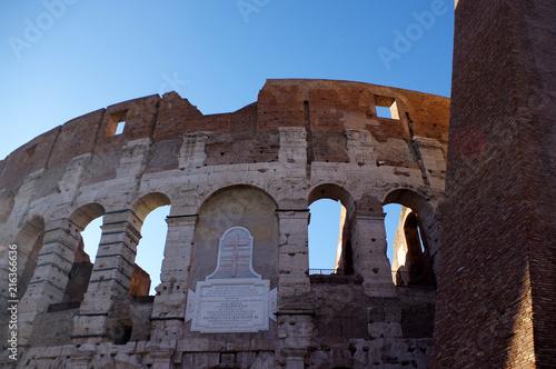 Photographie le Colisé a Rome