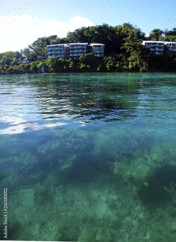 Foto op Aluminium Oceanië Scene of Port Vila Harbour, Efate, Vanuatu.