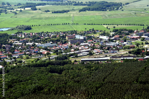 Fotobehang Olijf Löcknitz bei Pasewalk