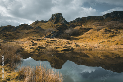 Scotland fairy glen landscape