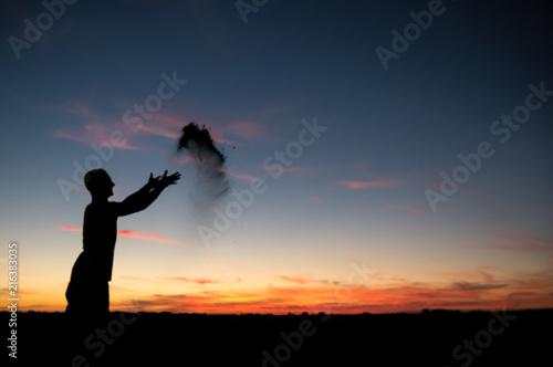 Photo  Spaß im Sonnenuntergang 2