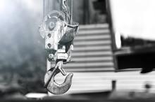 Rusty Crane Hook