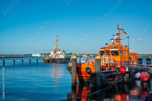 Lotsenversetzboot Kieler Bucht Holtenauer Schleuse