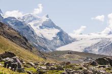 Zermatt, Fluhalp, Findelgletsc...