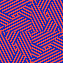 Vector Colorful Geometric Seam...