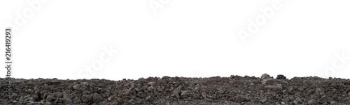 Fotomural  Pile of gardening soil surface for planting