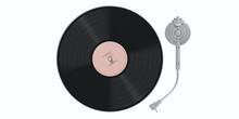 Vinyl Record LP Player Isolate...