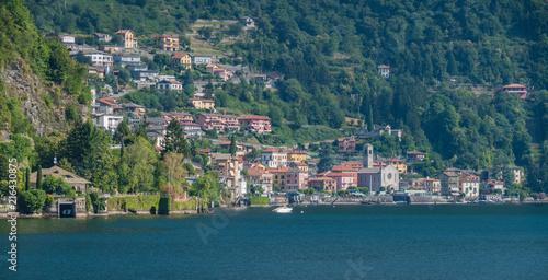 Photo Argegno, idyllic village on Lake Como, Lombardy, Italy.