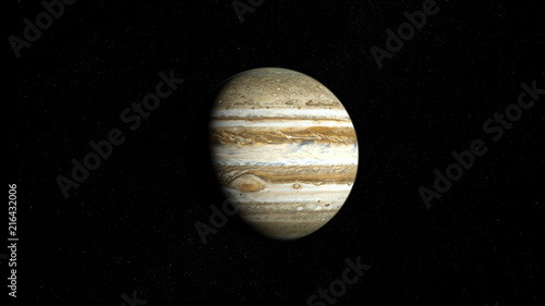 Fotomural Planète jupiter