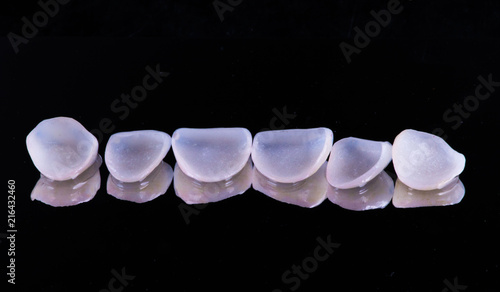Fotografie, Obraz  dental crowns and veneers