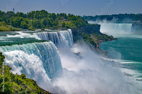 Fotografie, Obraz Niagara Falls from the United States side