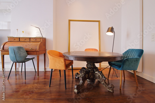 Table De Salle A Manger Baroque Buy This Stock Photo And