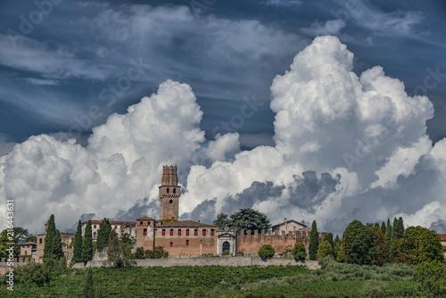 Foto  Castello di Susegana (San Salvatore), panorama di Treviso