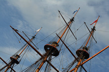 Three Wooden Masts Copy Of The...