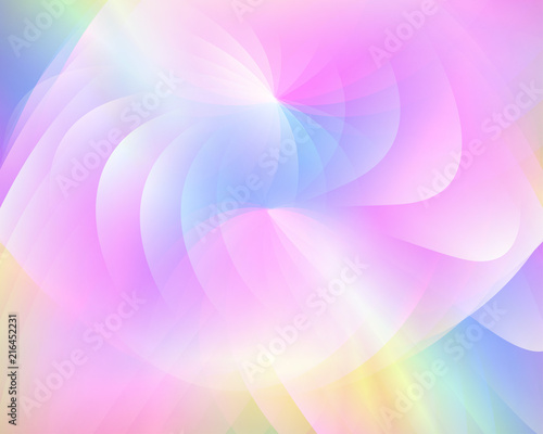Valokuva  Abstract vector background composed of simple elements
