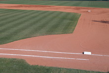 Baseball Infield With 1st Base