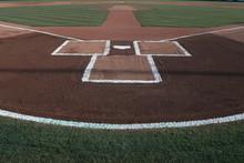 Baseball Little League Home Plate Batters Box